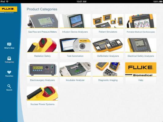 Fluke Biomedical Information Center App QA Systems/Accessories RSNA 2013