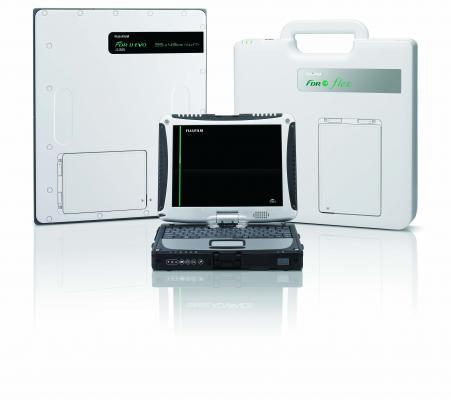 Fujifilm FDR D-EVO Flex Portable System for portable DR