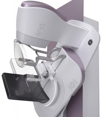 GE Healthcare, Senographe Pristina mammography system, launch, RSNA 2017, patient comfort
