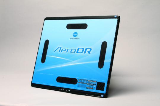 AeroDR XE, Latin America, Konica Minolta, DR, flat panel detector