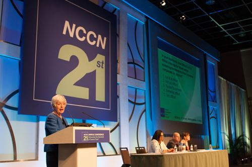 NCCN, breast cancer screening guidelines, discussion panel, 2016 annual conference, mammography