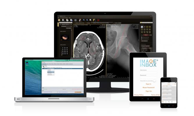 NexGenic ImageInbox App HIPAA-compliant Medical Imaging Delivery PACS