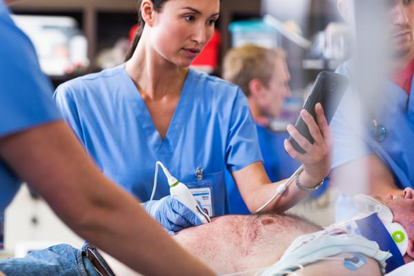 Philips, Lumify, app-based ultrasound, debut