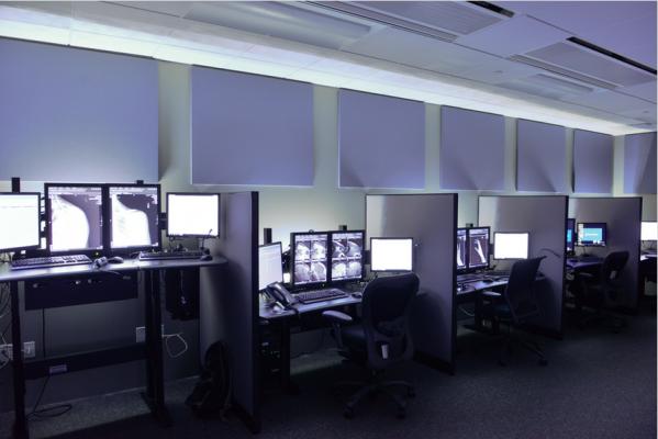 radiology reading room