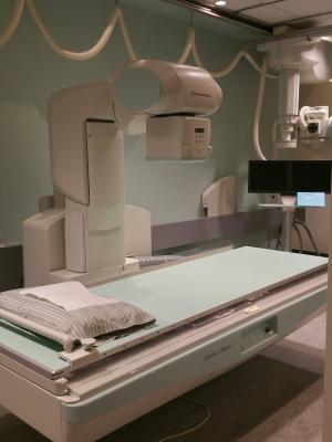 RIMC, Canada, Shimadzu, Sonialvision G4, universal R/F system, radiographic fluoroscopy, Christie InnoMed