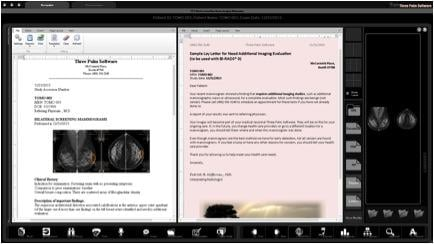 Three Palm Software, WorkstationOne breast imaging workstation, version 1.8.0, RSNA 2015