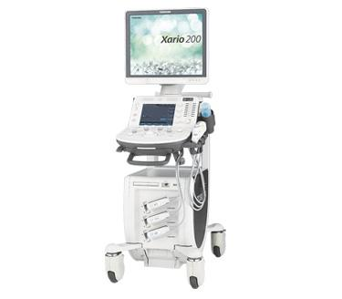 Toshiba Medical, Xario 200 Platinum Series ultrasound, RSNA 2016, SMI