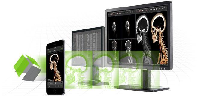 Visage Imaging, Visage 7, ACR/UF SIMulation program, enterprise imaging viewer