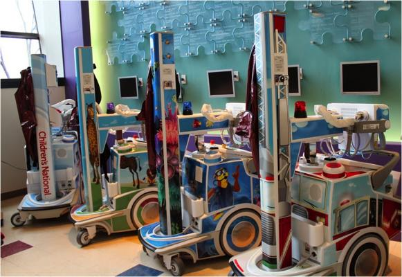 Agfa HealthCare, Children's National Health System, DR, DX-D 100, DX-D 600