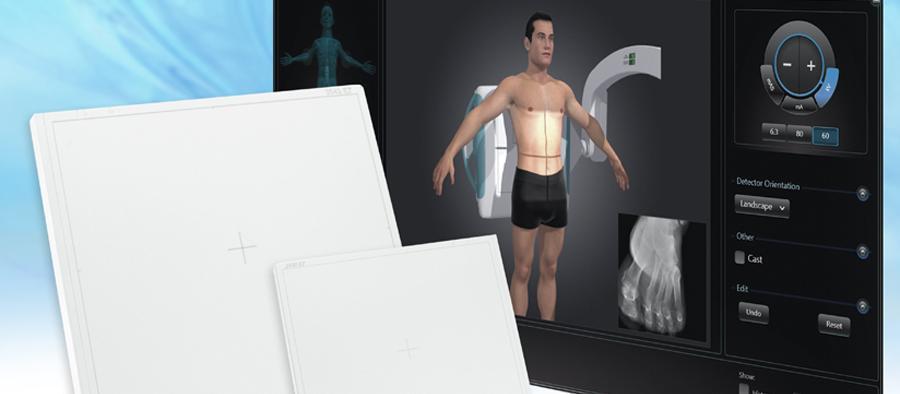 Digital Radiography Systems, RSNA 2014, Thales Artpix Mobile EZ2GO