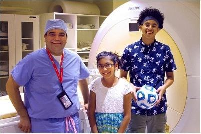 Children's National, Sheikh Zayed, MR-HIFU, focused ultrasound, osteoid osteoma