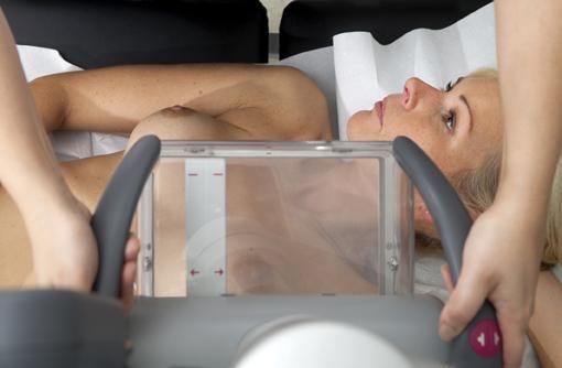 3-D volumetic imaging of the breast