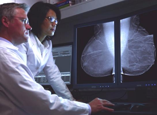 tomosynthesis, breast cancer, 2-D, 3-D, mammogram, screening, detection