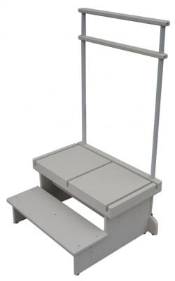 New Extra-Wide 2-Step Positioning Platform for Weight-Bearing Lateral X-Rays of Feet, Ankles and Lower Leg