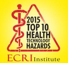 Top 10 hazard list, radiation dose management, ECRI Institute