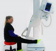 The KDR-UA shows positioning for an ankle radiograph.