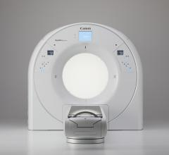 AI-powered premium large bore CT scanner offers industry's largest bore and widest field-of-view