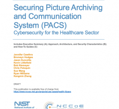 The National Cybersecurity Center of Excellence (NCCoE) at the National Institute of Standards and Technology (NIST) is releasing a new practice guide — NIST Special Publication 1800-24, Securing Picture Archiving and Communication System (PACS)