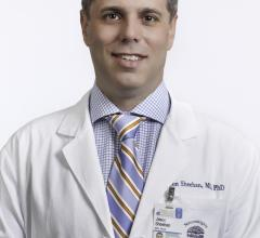 Neurosurgeon Jason Sheehan, M.D., Ph.D., of UVA Health, is pioneering the use of focused ultrasound to treat glioblastoma, the deadliest brain tumor. Image courtesy of UVA Health