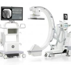 GE Healthcare OEC Elite CFD mobile C-arm with CMOS flat detector
