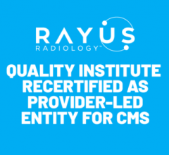 CDI Quality Institute, a non-profit affiliate ofRAYUS Radiology, one of the nation's leading national subspecialty providers for advanced diagnostic and interventional radiology services, once again qualified as aProvider-led entity (PLE) for the Medicare Appropriate Use Criteria (AUC) Programwith the Centers for Medicare & Medicaid Services (CMS)