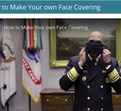 #COVID19 #Coronavirus #2019nCoV #Wuhanvirus #SARScov2 U.S. Surgeon General Jerome Adams, M.D., M.Ph demonstrates how the general public can make their own face masks for non-clinical use.