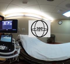 360 View inside an Ultrasound Room at Northwestern Medicine Central DuPage Hospital