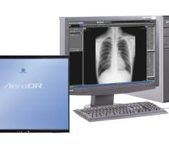 X0000 Konica Minolta ImagePilot Aero chest xray AeroDR
