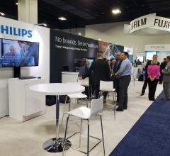 Philips and Fujifilm booths at SIIM 2019.