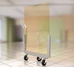 Radiation dose management, RSNA 2014, x-ray, lead-free, acrylic shielding