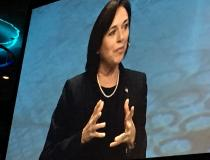 Karen DeSalvo, M.D., MPH, MSc, former National Coordinator for Health IT, spoke at the opening session at HIMSS 2019.
