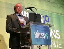 ITN Editor Dave Fornell shot a video with Les Folio, DO, MPH, MDc, MAS, lead radiologist for CT, National Institutes Of Health (NIH), on use of AI-assisted radiology workflow where links to images and prior exams can be embedded in the radiology report using dictation.  Folio spoke today in a session at HIMSS 2019 on how new technology can be leveraged to improve radiology reporting.