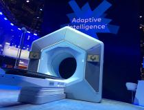 """Varian unveiled the Ethos radiotherapy treatment system at ASTRO19. It uses an artificial intelligence-powered system designed to deliver adaptive therapy treatment options from the onboard cone-beam CT-system in a typical 15-minute timeslot. <a href=""""https://www.itnonline.com/content/varian-unveils-ethos-solution-adaptive-radiation-therapy""""> Read the article """"Varian Unveils Ethos Solution for Adaptive Radiation Therapy."""">#ASTRO19 #ASTRO2019 #ASTRO"""