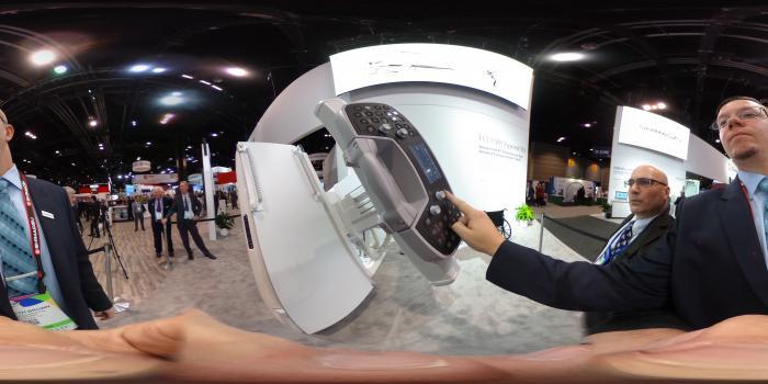 The Shimadzu FluoroSpeed X1radiographic fluoroscopy (RF) imaging system